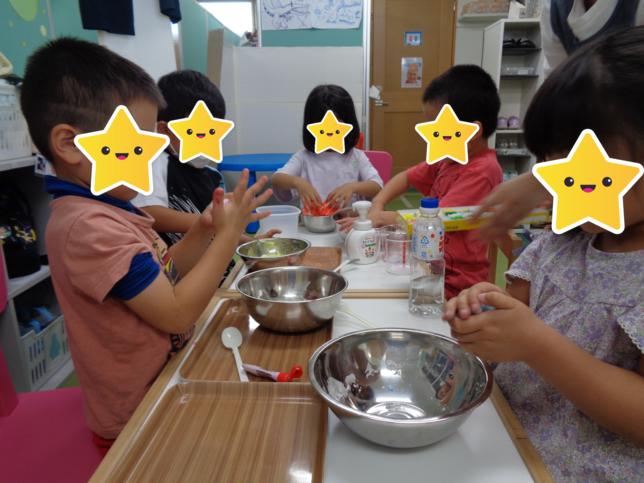 夏のお楽しみ(1)/福島旭町教室