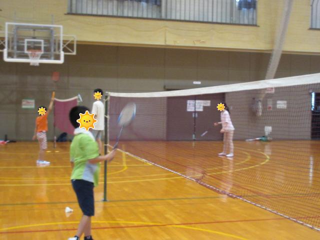 久しぶりの体育館♬/福島鎌田教室