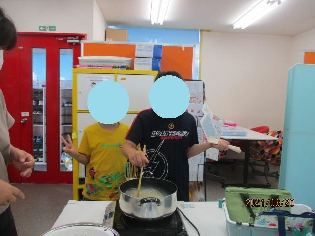 ロングスライダー流しそうめん!/福島八木田教室