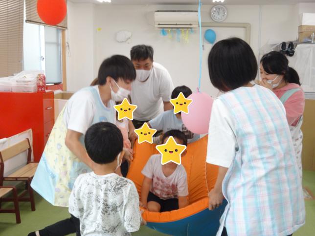 夏のお楽しみ(3)/福島旭町教室
