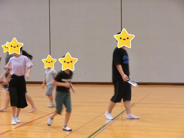 楽しみにしていた体育館へ♪♪/福島大森教室