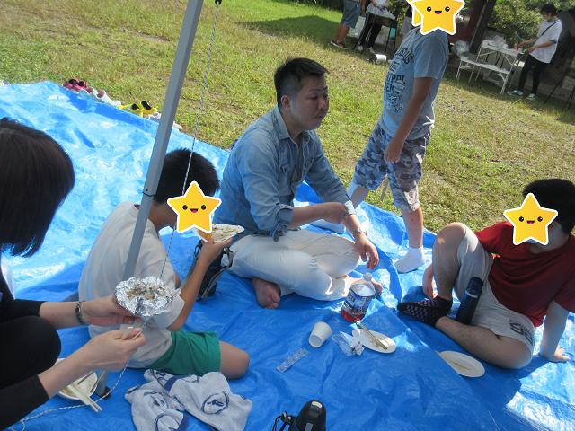 希望の森公園でBBQ食べて来ました♪/福島鎌田教室
