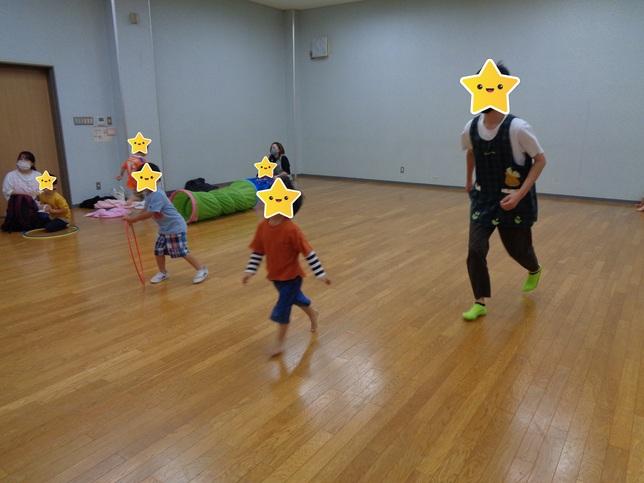 大森教室のお兄さん、お姉さんと一緒に遊んだよ☆/福島 旭町教室
